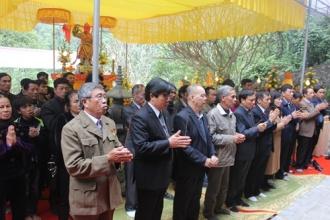 BQL VQG Phong Nha – Kẻ Bàng tổ chức tuần Lễ giỗ 47 năm ngày hy sinh của các Anh hùng, Liệt sỹ tại hang Tám Cô đường 20 Quyết Thắng (14/11/1972 - 14/11/2019)